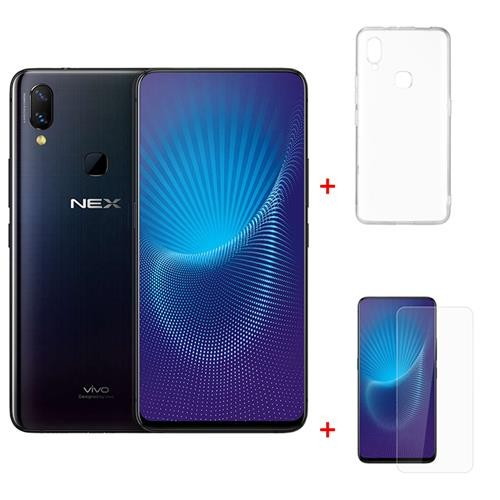 Package Vivo Nex 6.59 Inch 6GB 128GB Smartphone Black