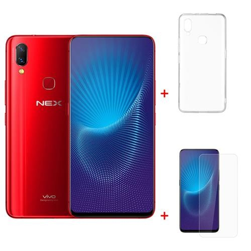 Package Vivo Nex 6.59 Inch 6GB 128GB Smartphone Red