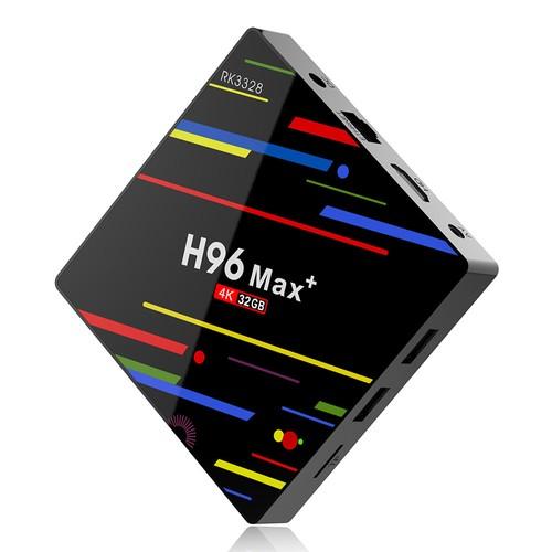 Caixa de TV H96 MAX + RK3328 Android 8.1 4GB / 32GB