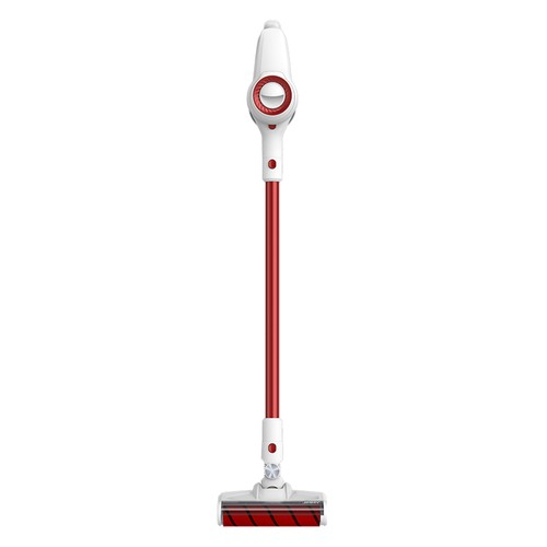 Xiaomi JIMMY JV51 Lightweight Cordless Stick Vacuum Cleaner 115AW Powerful Suction Anti_winding Hair Mite Cleaning Vacuum Cleaner EU Plug Global Version  Red