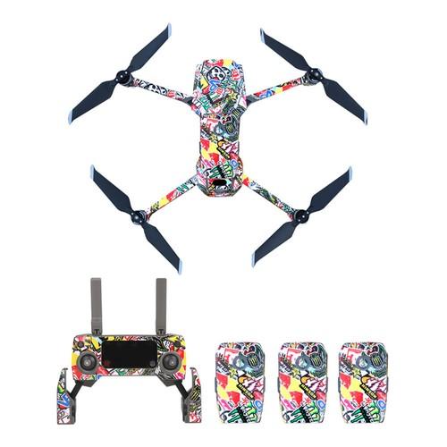 Sunnylife PVC Stickers for DJI Mavic 2 Pro/Zoom RC Drone - Individual Scrawl