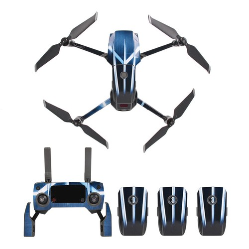 Sunnylife PVC Stickers for DJI Mavic 2 Pro/Zoom RC Drone - Wolverine Claw