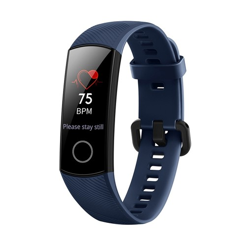 HUAWEI Honor Band 4 Smart Bracelet 0.95 Inch AMOLED Touch Large Color Screen 5ATM Heart Rate Monitor Swimming Posture Recognition - Blue
