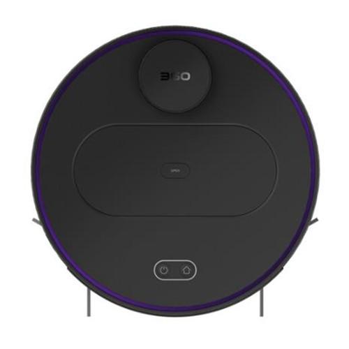 360 S6 Automatic Robotic Vacuum Cleaner Black
