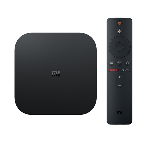 XIAOMI Mi Box S Android 8.1 Netflix 4K 2GB_8GB 4K TV Box with Voice Remote Dolby DTS Google Assistant Chromecast AC WiFi Bluetooth  International Version
