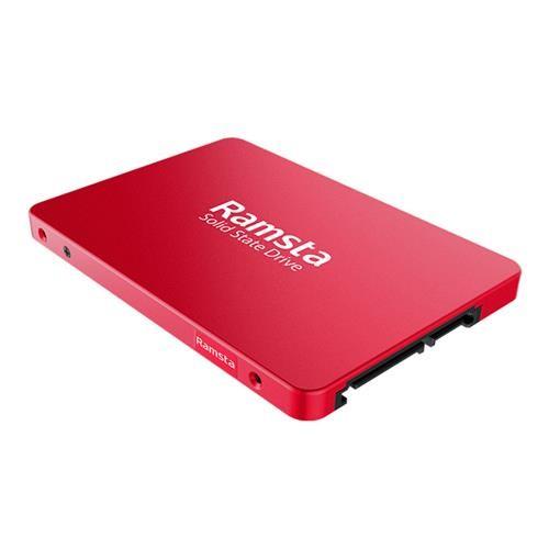 Ramsta S800 1TB SATA3 2.5 pulgadas de alta velocidad SSD rojo