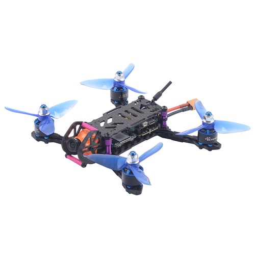 SKYSTARS Baby Turtle 145mm FPV Racing Drone F4 8K FC OSD 200mW VTX RunCam Split Mini2 DVR Camera Frsky XM+ Receiver - BNF