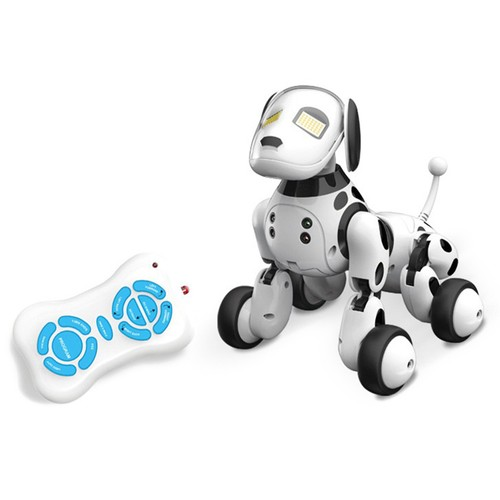 DIMEI 9007A RC Robot Dog Black White