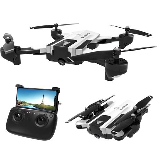 SG900 720P WiFi FPV Foldable RC Drone RTF White