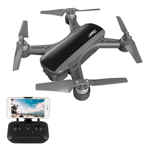 JJRC X9 Heron 1080P GPS 5G WiFi FPV Brushless RC Drone Optical Flow Positioning RTF - Black