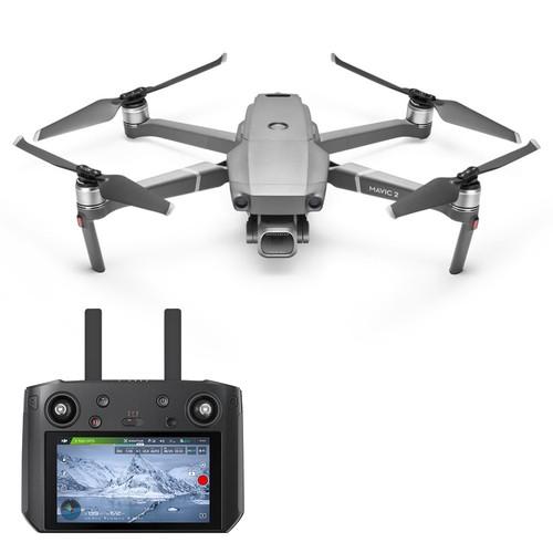 "DJI Mavic 2 Pro 3-Axis Gimbal 1"" CMOS Sensor Hasselblad Camera Foldable RC Drone with DJI Smart Controller RTF"