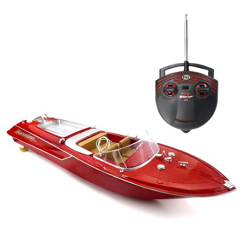 Flytec HQ2011-1 27Mhz 4CH Brushed RC Racing Boat RTR Red