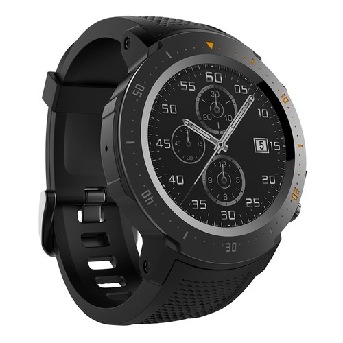 Makibes A4 4G LTE Smartwatch Phone Android 7.1 MTK6739 Quad Core 1G RAM 16G ROM 1.39 Inch GPS WiFi Heart Rate Monitor  Black