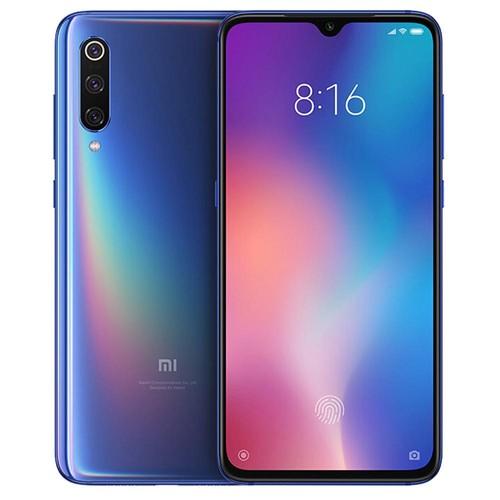 Xiaomi Mi 9 6.39 pulgadas 4G LTE teléfono inteligente Snapdragon 855 6GB 128GB 48.0MP + 12.0MP + 16.0MP Cámaras traseras triples MIUI 10 In-display Huella digital NFC Carga rápida Versión global - Azul marino