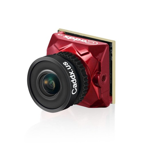 """Caddx Ratel Starlight HDR OSD 1/1.8"""" 1.66mm Lens 1200TVL FPV Camera For Racing Drone - Red"""
