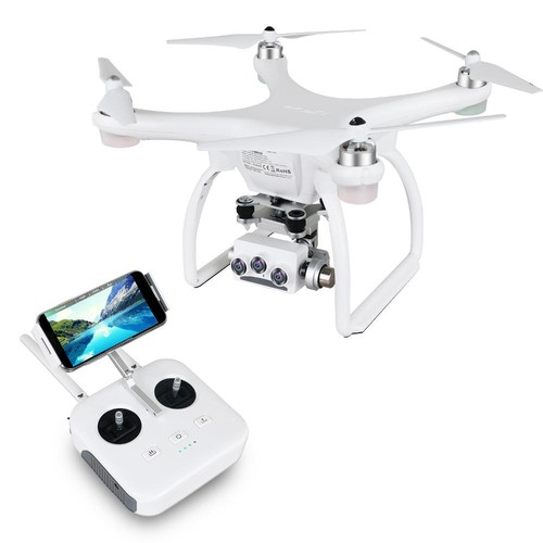 Upair 2 Ultrasonic 3D 4K GPS WiFi FPV RC Drone Optical Flow Positioning RTF - US Plug