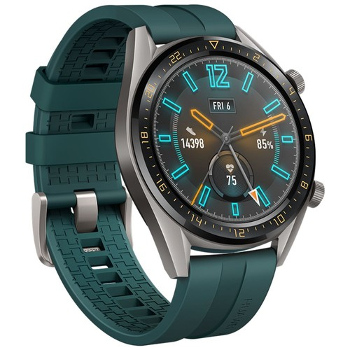 HUAWEI WATCH GT Active Sports Smartwatch 1.39 Inch AMOLED Colorful Screen Heart Rate Monitor Built-in GPS - Green