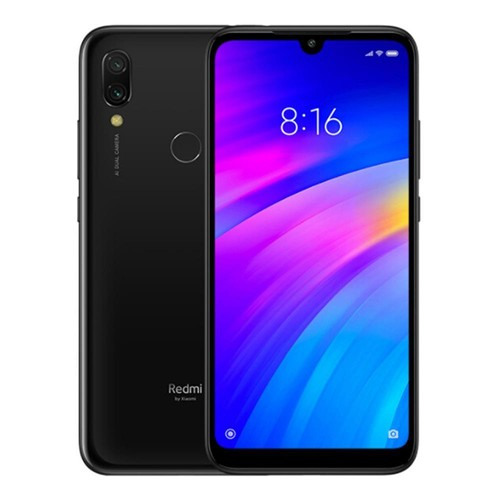 Xiaomi Redmi 7 6.26 Inch 4G LTE Smartphone Snapdragon 632 2GB 16GB 12.0MP+2.0MP Dual Cameras MIUI 10 Touch ID IR Remote Control Global Version - Black