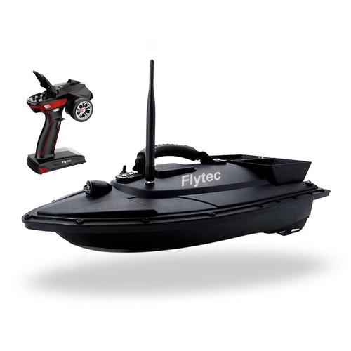 Flytec V500 500m Remote Distance Fishing Bait Double Motor 5.4km/h Fish Finder RC Boat RTR - Black