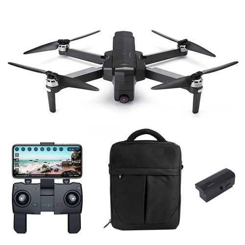 SJRC F11 PRO 2.7K GPS 5G WIFI FPV Foldable RC Drone With Adjustable Camera 28mins Flight Time RTF - Two Batteries With Bag