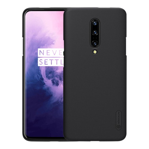 NILLKIN Hard Phone Case For Oneplus 7 Pro Protective Back Cover - Black