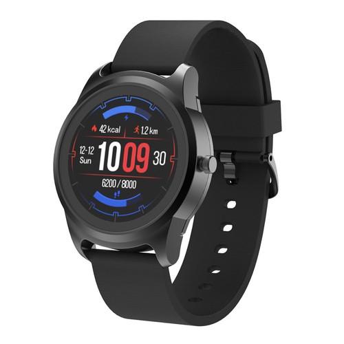 S28 Smart Watch 1.3 Inch IPS Screen Heart Rate Monitor IP68  Muti_Sports Fitness Tracker  Black