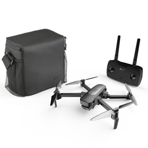 Hubsan H117S Zino 5G Wifi FPV 1KM GPS Foldable RC Drone With 4K 3-Axis Gimbal Camera Panorama Photography RTF Portable Version - Black