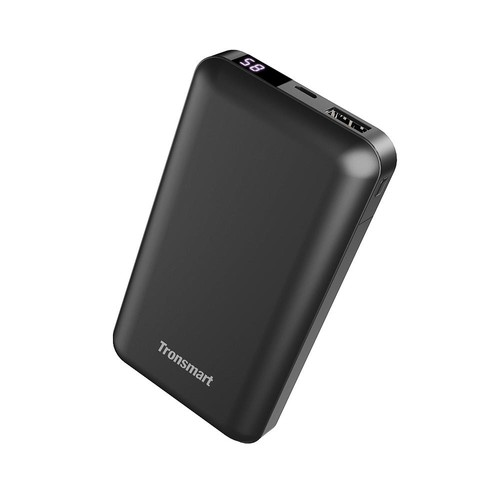 Tronsmart PB20 20000mAh Portable Charger Dual Output with LED Display for iPhone, Samsung