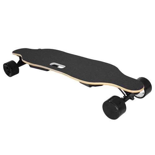 REDPAWZ SYL-06 Electric Skateboard Dual 350W Motors 4000mAh Battery Max Speed 35km/h With Remote Control - Black