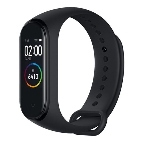 Xiaomi Mi Band 4 Smart Bracelet 0.95 Inch AMOLED Color Screen Built-in Multifunction Heart Rate Monitor 5ATM Water Resistant 20 Days Standby NFC Version - Black
