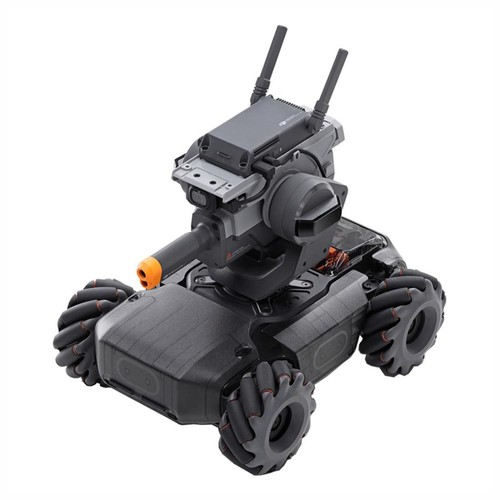 DJI RoboMaster S1 DIY 4WD FPV RC Robot Intelligent Sensing Armor Scratch Python Coding For Kids Gift