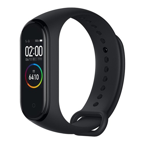 Xiaomi Mi Band 4 Smart Bracelet 0.95 Inch AMOLED Color Screen Built_in Multifunction Heart Rate Monitor 5ATM Water Resistant 20 Days Standby  Black