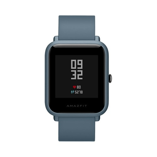 Huami Amazfit Bip Lite Smart Sports Watch 3ATM Water Resistant 45 Days Standby 1.28 Inch Touch Screen Bluetooth 4.1 Heart Rate Monitor - Blue