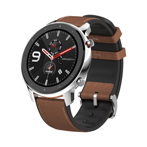 Huami AMAZFIT GTR Smartwatch 1.39 Inch Retina Display 5ATM Water Resistant GPS 47mm Global Version - Stainless Steel