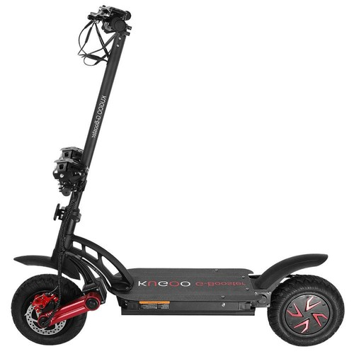 KUGOO G-BOOSTER Folding Electric Scooter Dual 800W Motors 3 Speed Modes Max 55km/h 10 Inch Vacuum Tire-Black