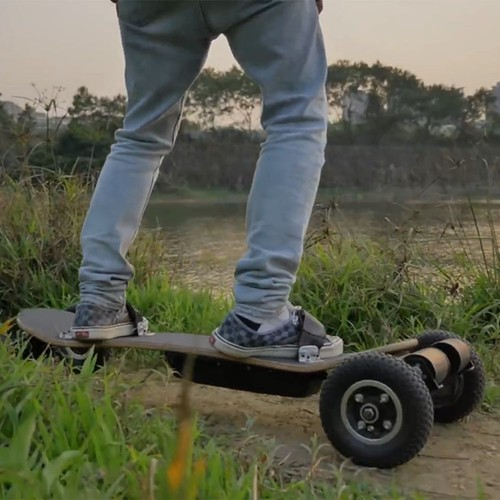 SYL-08 V3 Version Electric Off Road Skateboard With Remote Control 1450W