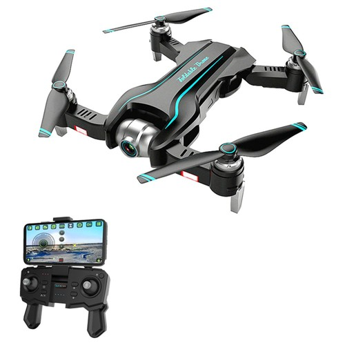 S17 4K 5G WIFI Foldable RC Quadcopter With Dual Camera Switchable Optical Flow Positioning RTF - One Battery with Bag