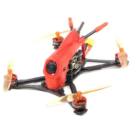 HGLRC Parrot120 2.5 Inch 2-3S Toothpick FPV Racing Drone FD411 OSD 13A 5.8G 400mW Caddx Turbo Eos2 Cam BNF - Frsky XM+ Receiver