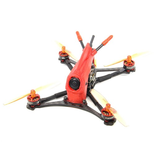 HGLRC Parrot120 2.5 Inch 2-3S Toothpick FPV Racing Drone FD411 OSD 13A 5.8G 400mW Caddx Turbo Eos2 Cam PNP - Without Receiver