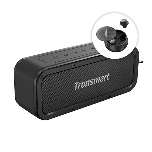 Tronsmart Force 40W Bluetooth 5.0 Speaker + Tronsmart Spunky Pro
