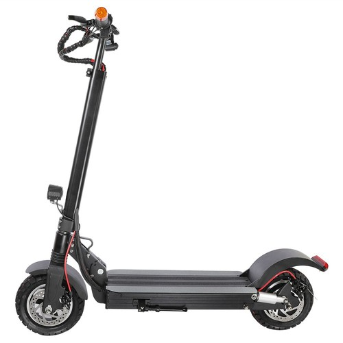 Tarsa T9 Off_road Folding Electric Scooter 500W Motor Max 40km_h 10Ah Battery 10 Inch Pneumatic Tire  Black