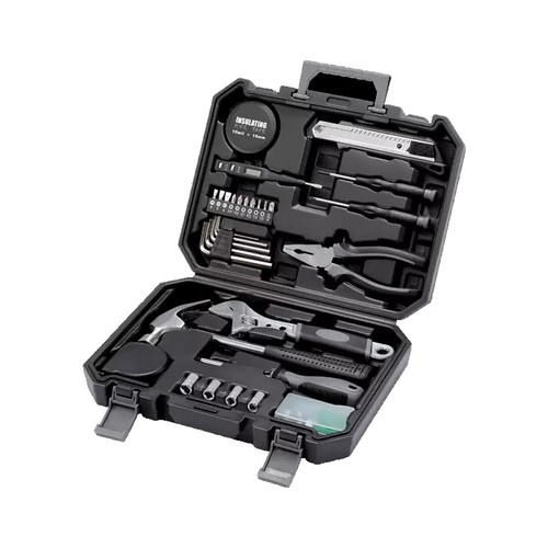 Xiaomi Youpin 60 in 1 Household Toolkit Repair Tool with Nail Hammer Movable Wrench Wire Cutter Phillips Screwdriver