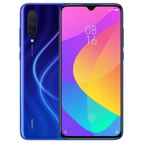 小米米9 Lite 6.39英寸4G LTE智能手机Snapdragon 710 6GB 64GB 48.0MP + 8.0MP + 2.0MP三合一后置摄像头指纹ID双卡MIUI 10全球版 - 蓝色