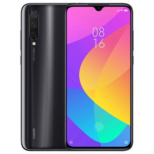 小米米9 Lite 6.39英寸4G LTE智能手机Snapdragon 710 6GB 128GB 48.0MP + 8.0MP + 2.0MP三合一后置摄像头指纹ID双卡MIUI 10全球版 - 黑色