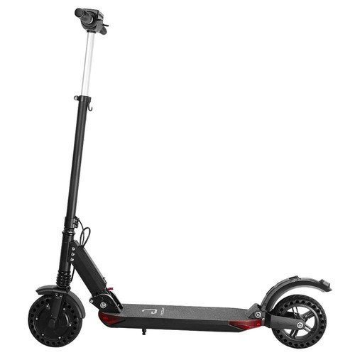 KUGOO S1 Pro Folding Electric Scooter 350W Motor LCD Display Screen 3 Speed Modes Max 30km_h  Black