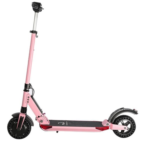 KUGOO S1 Pro Folding Electric Scooter 350W Motor LCD Display Screen 3 Speed Modes Max 30km/h IP54 Waterproof - Pink