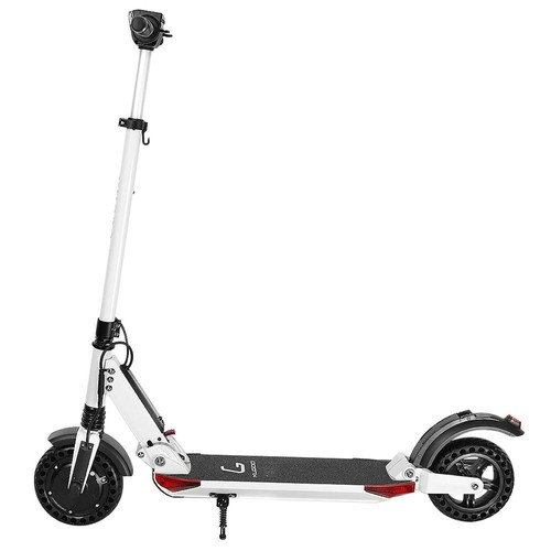 KUGOO S1 Pro Folding Electric Scooter 350W Motor LCD Display Screen 3 Speed Modes Max 30km/h IP54 Waterproof - White