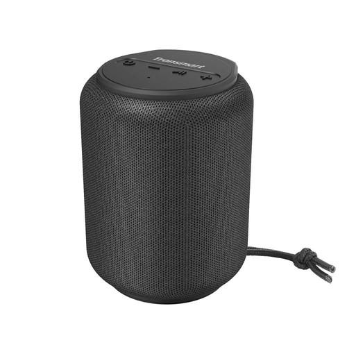 Tronsmart Element T6 Mini 15W Bluetooth 5.0 Speaker 30m Connection Siri Google Assistant IPX6 24H Playtime USB_C  Black