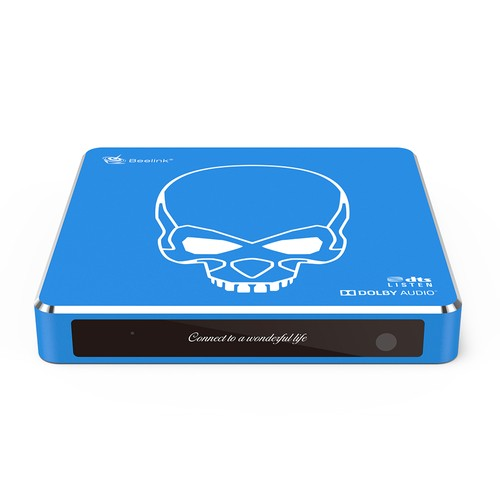 Beelink GT_King Pro Amlogic S922X_H Android 9.0 Dual System Hi_Fi Lossless Sound 4K TV Box 4GB_64GB ROM Dolby DTS Google Assistant Voice Remote Control Bluetooth 2.4G_5.8G WiFi 1000M LAN USB3.0