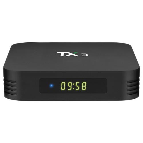 TANIX TX3 ALICE UX Amlogic S905x3 8K Video Decode Android 9.0 TV Box 4GB_64GB Bluetooth 2.4G 5.8G WiFi LAN USB3.0 Youtube Netflix Google Play